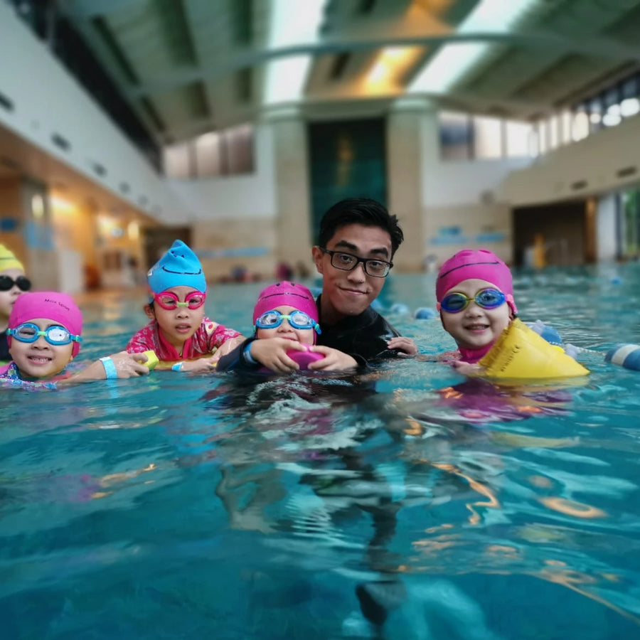 30-Min Indoor Toddler Swimming Group Lesson [3 Class Package] (HK,KLN)