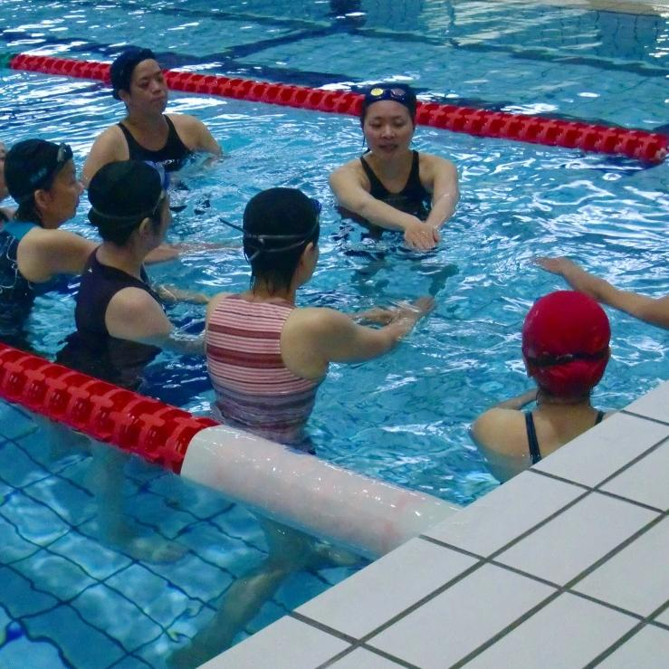 45-Min Weekday Group Adult Swimming Lesson