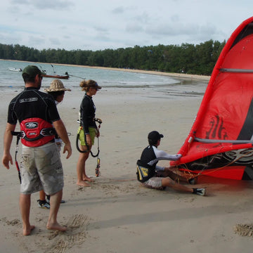 Kiteboarding for beginner by MK2