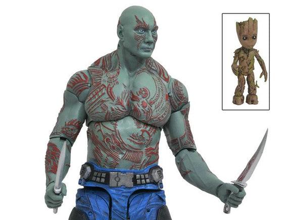 Guardians of the Galaxy Vol. 2 Select Drax & Baby Groot