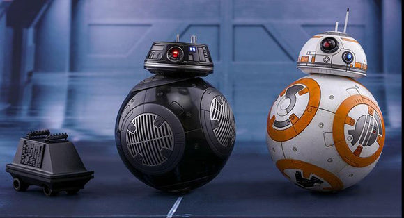 Star Wars: The Last Jedi MMS442 BB-8 & BB-9E 1/6th Scale Collectible Figure Set