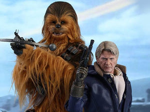 Star Wars: The Force Awakens MMS376 Han Solo and Chewbacca 1/6th Scale Collectible Figures Set
