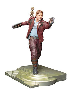 Guardians Of The Galaxy Vol 2 12 Inch Statue Figure ArtFX Series - Star-Lord & Groot