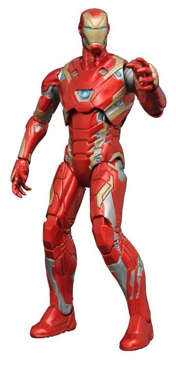 Captain America: Civil War Select Iron Man Mark XLV