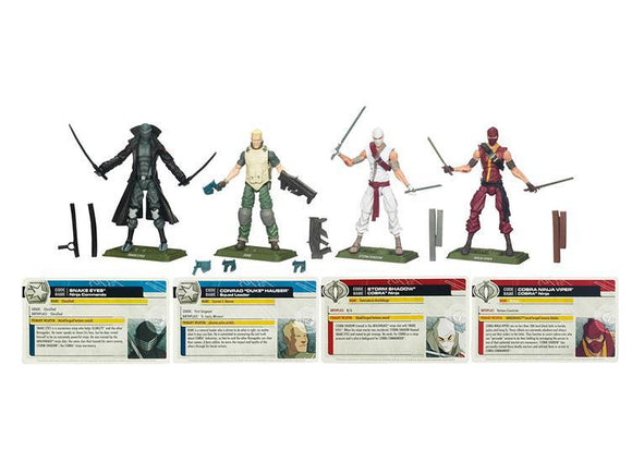 GI Joe Renegades Four Pack Exclusive