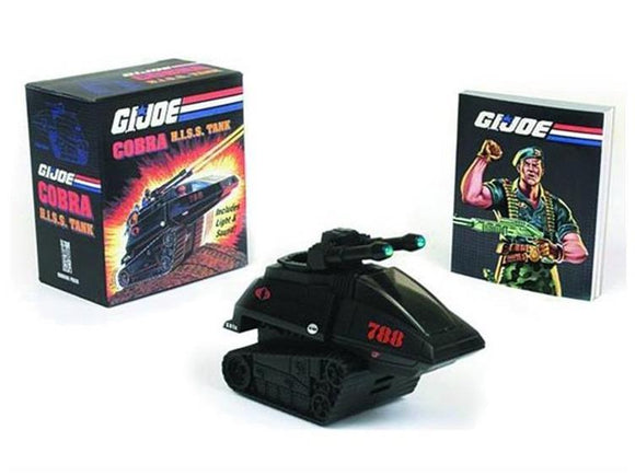 GI Joe HISS Tank With Book