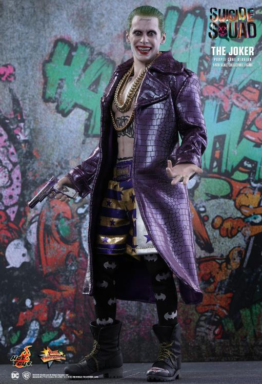 Suicide Squad MMS382 The Joker (Purple Coat Ver.) 1/6th Scale Collectible Figure