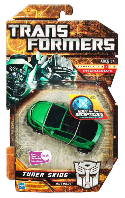 Transformers 6 Inch Action Figure Deluxe Class (2010 Wave 2) - Tuner Skids