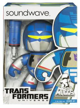 Transformers Action Figure Mighty Muggs (2009 Wave 1): Soundwave