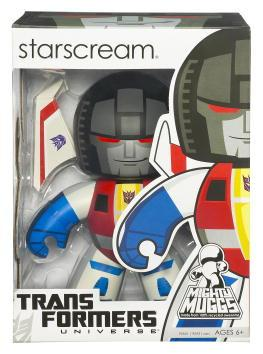 Transformers Action Figure Mighty Muggs (2009 Wave 2): Starscream