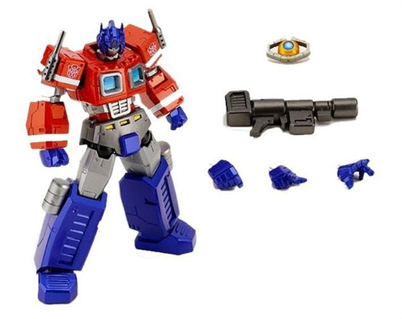 Revoltech PVC Transformers Figures: Optimus Prime Convoy No.19