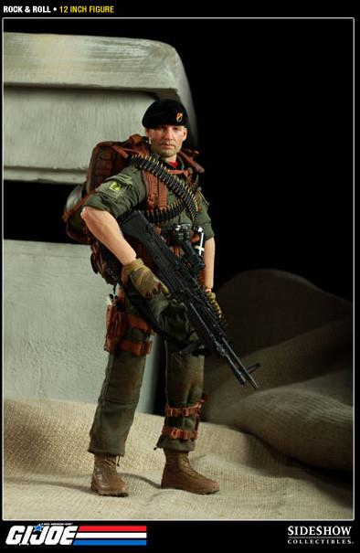 G.I. Joe 12 Inch Doll Figure - Rock 'n' Roll Sideshow