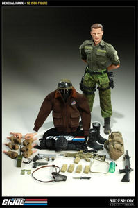 G.I. Joe 12 Inch Doll Figure - General Hawk Sideshow