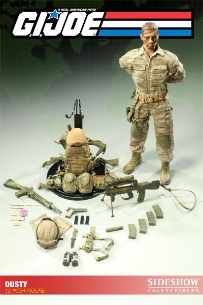 G.I. Joe 12 Inch Sideshow Doll Figure - Dusty
