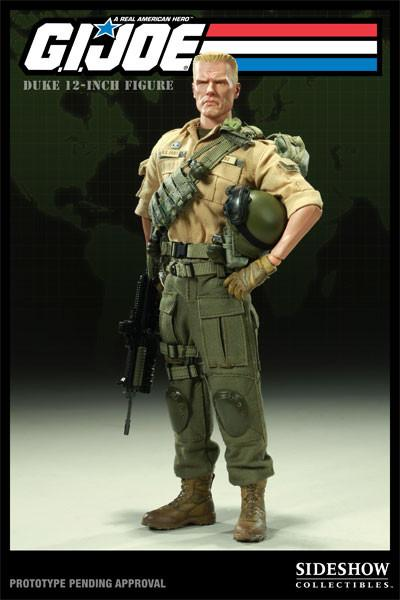 Duke - G.I. Joe 1:6 Scale Doll Figure Sideshow Toys