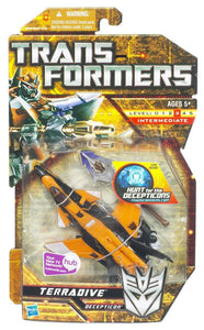 Transformers 6 Inch Action Figure Deluxe Class (2010 Wave 3) - Terradive (European Fighter Jet)