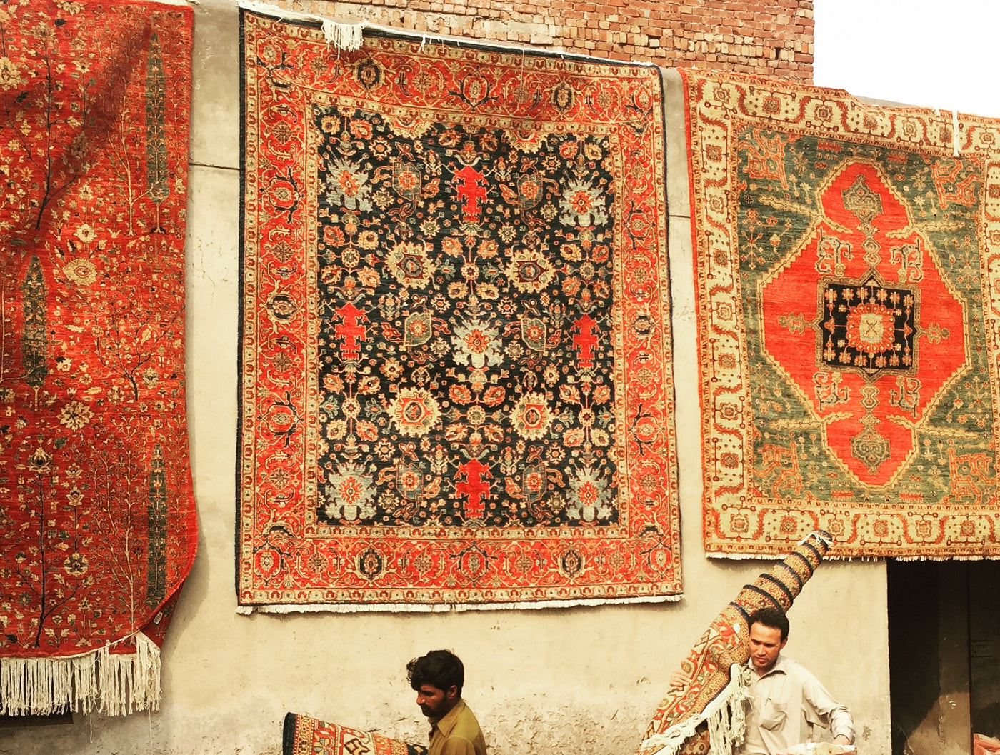 Traditionally Crafted Rugs directly from Central Asia