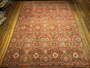 William Morris Rug. 12 x 8'.10""