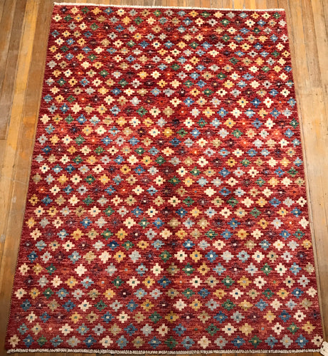 "Arts & Crafts Rug. 7'.6"" x 5'.7"""