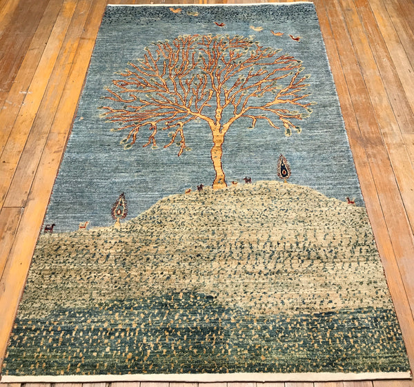 Arts and Crafts Village Rug, 3.10x6.2