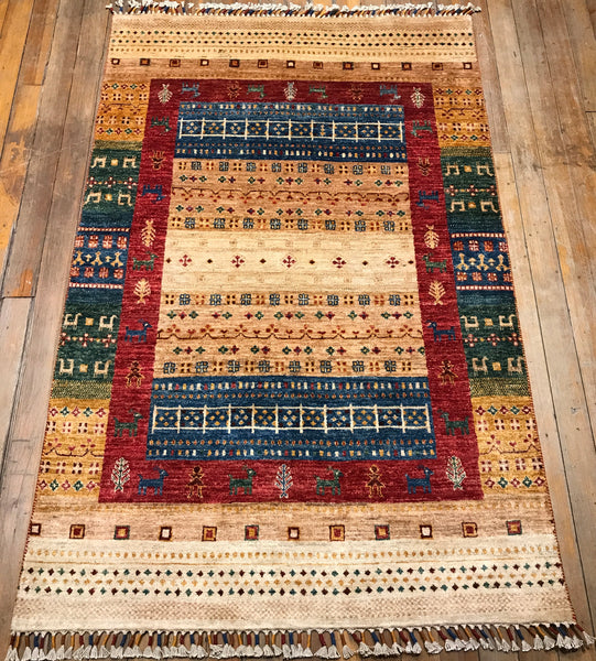Arts and Crafts Rug, 6.1x3.11