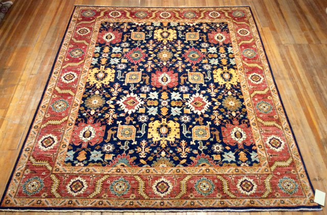 Sultanabad Rug.  10' X 8'.3