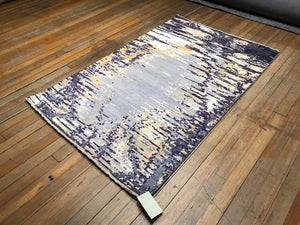 "Arts & Crafts Rug.  6'4"" x 4'"