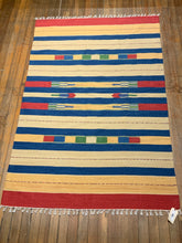 "Cotton Dhurry Rug  7'.1"" X 5'.1"" CLEARENCE  $ 385.00"