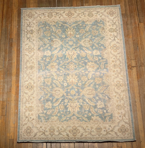 Natural Dyes/Hand Spun Wool Tabriz Rug 9'.8