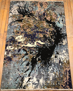 "Arts & Crafts Rug.  6'4"" x 4'2"""