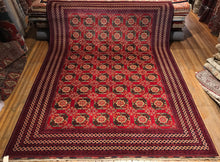 "Tribal Turkaman Rug.  13'2"" x 9'8"""