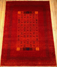 "Arts & Crafts Rug.  4'9"" x 6'8"""