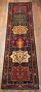 "Royal Bakthari Rug.  9'.4"" x 2'.8"""