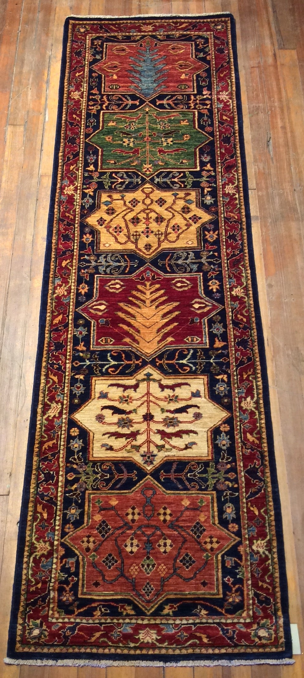 Royal Bakthari Rug.  9'.4