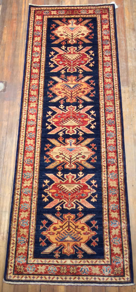 Super Eagle Kazak Rug.  8' x 2'.8""