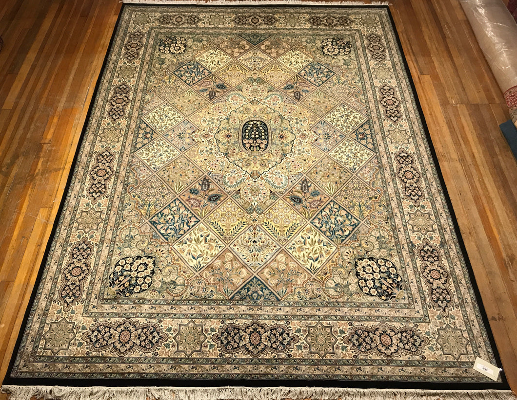 Royal Bakthari Rug.  12'.3