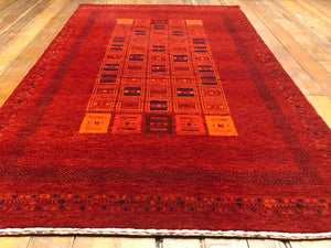 "Arts and Crafts Rug.  5'.3"" x 3'.3"""
