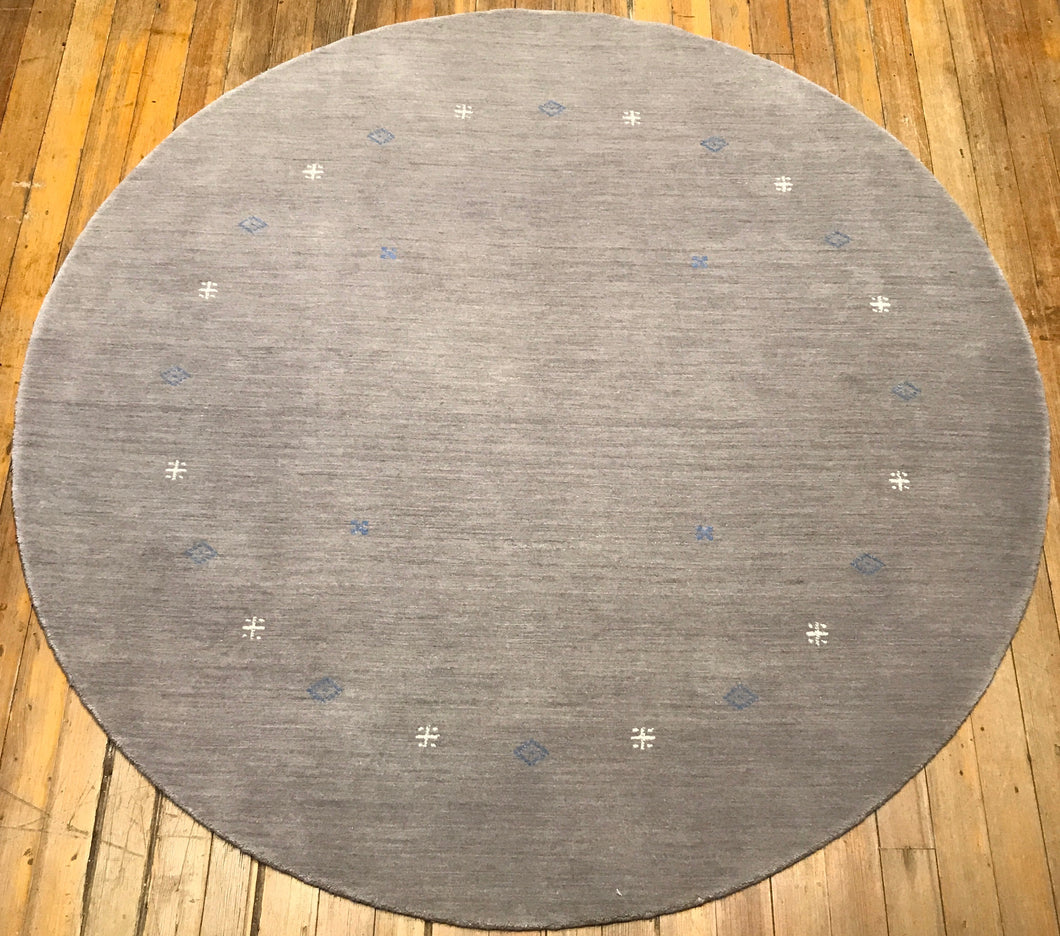 Arts and Crafts Round Rug.  6' x 6'