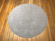 "Arts and Crafts Round Rug.  6'.1"" x 6'.1"""
