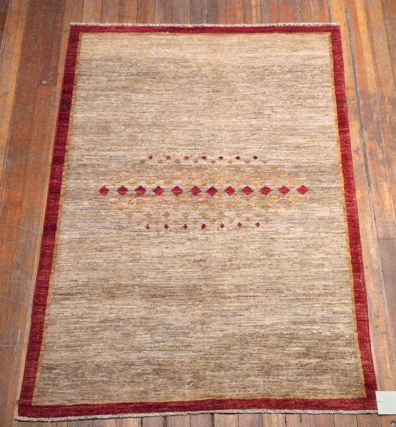 "Arts & Crafts Rug.  5'.9"" x 4'.1"""