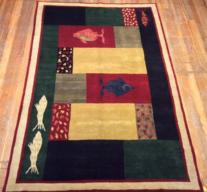 "Art Deco Rug 9'.2"" X 6' CLEARANCE $599.00"
