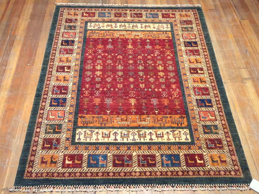 Khorjin Arts and Crafts Rug  8' X 5'.10