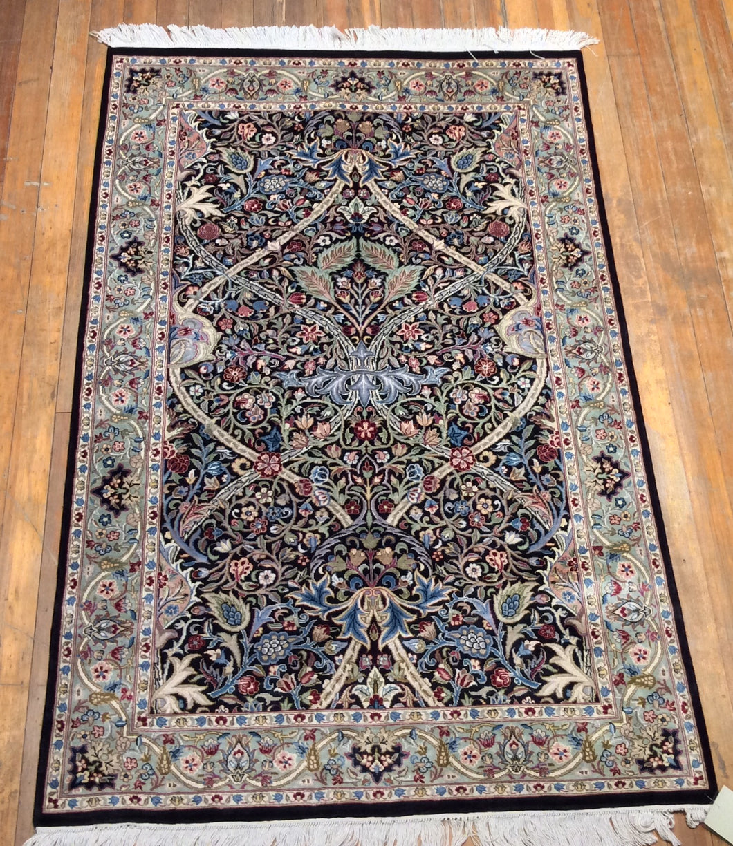 Arts and crafts fine rug.  6'.2