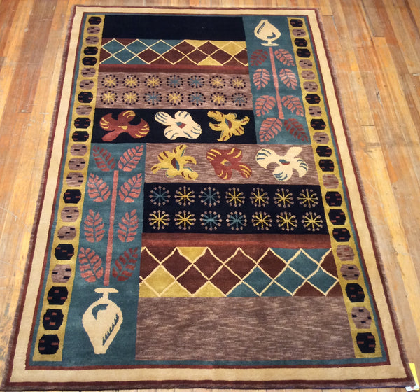 "Arts and Crafts Rug.  9' x 6'.1"" CLEARANCE $895.00"