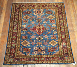 "Super Kazak Shiraz Rug. 6'.1"" x 5'.1"""