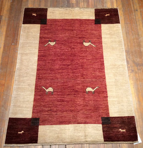 "Arts and crafts Rug.  6'.4"" x 4'.8"""