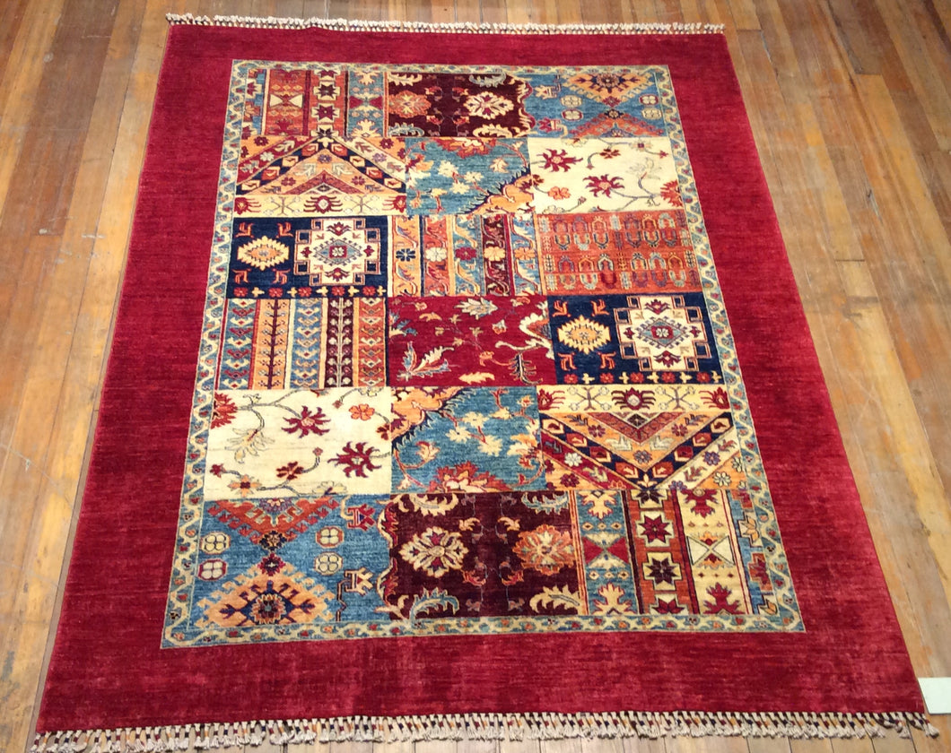 Royal Bakthari Rug.  7'.10
