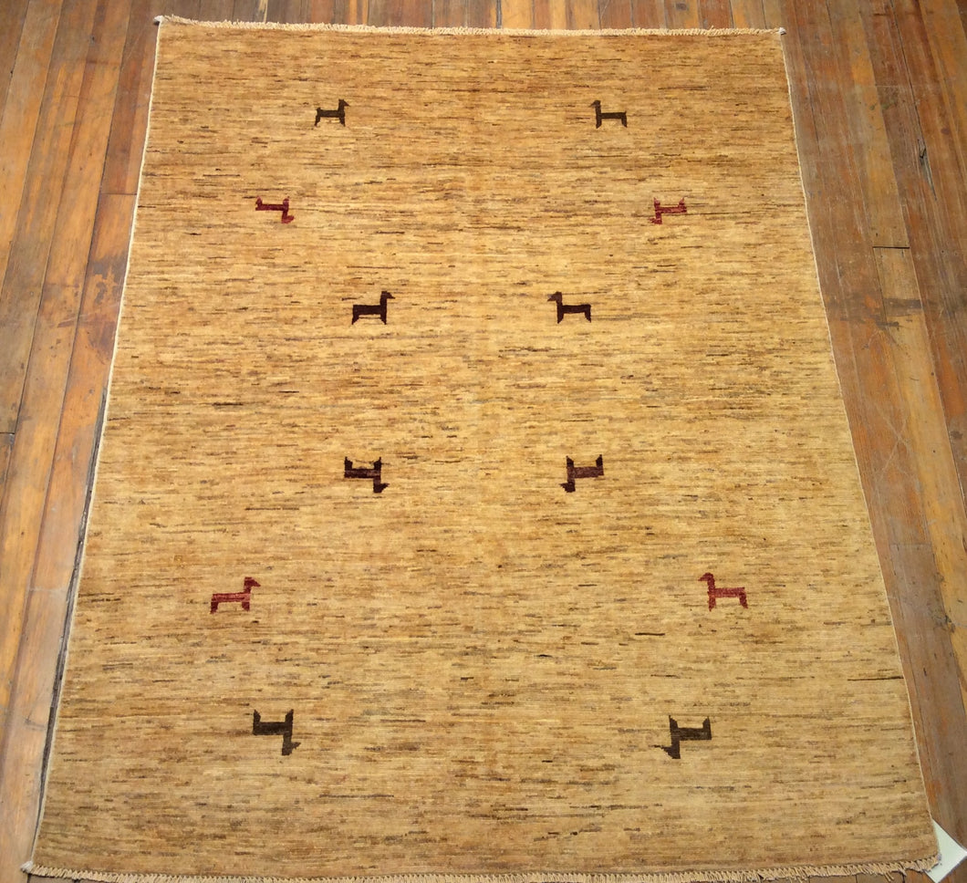 Arts and Crafts Rug.  6'.6