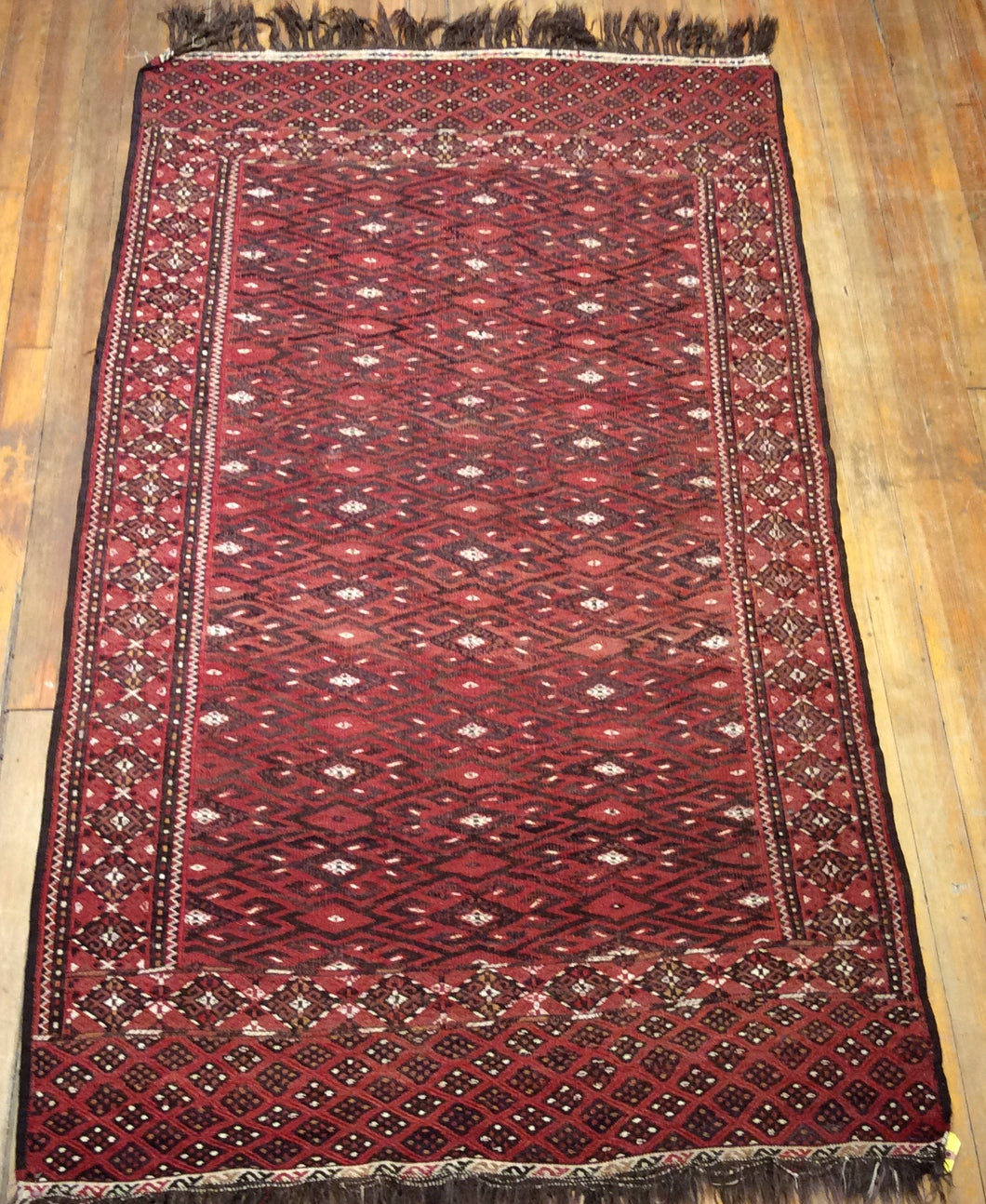 Antique Fine Persian Summak.  7'.3