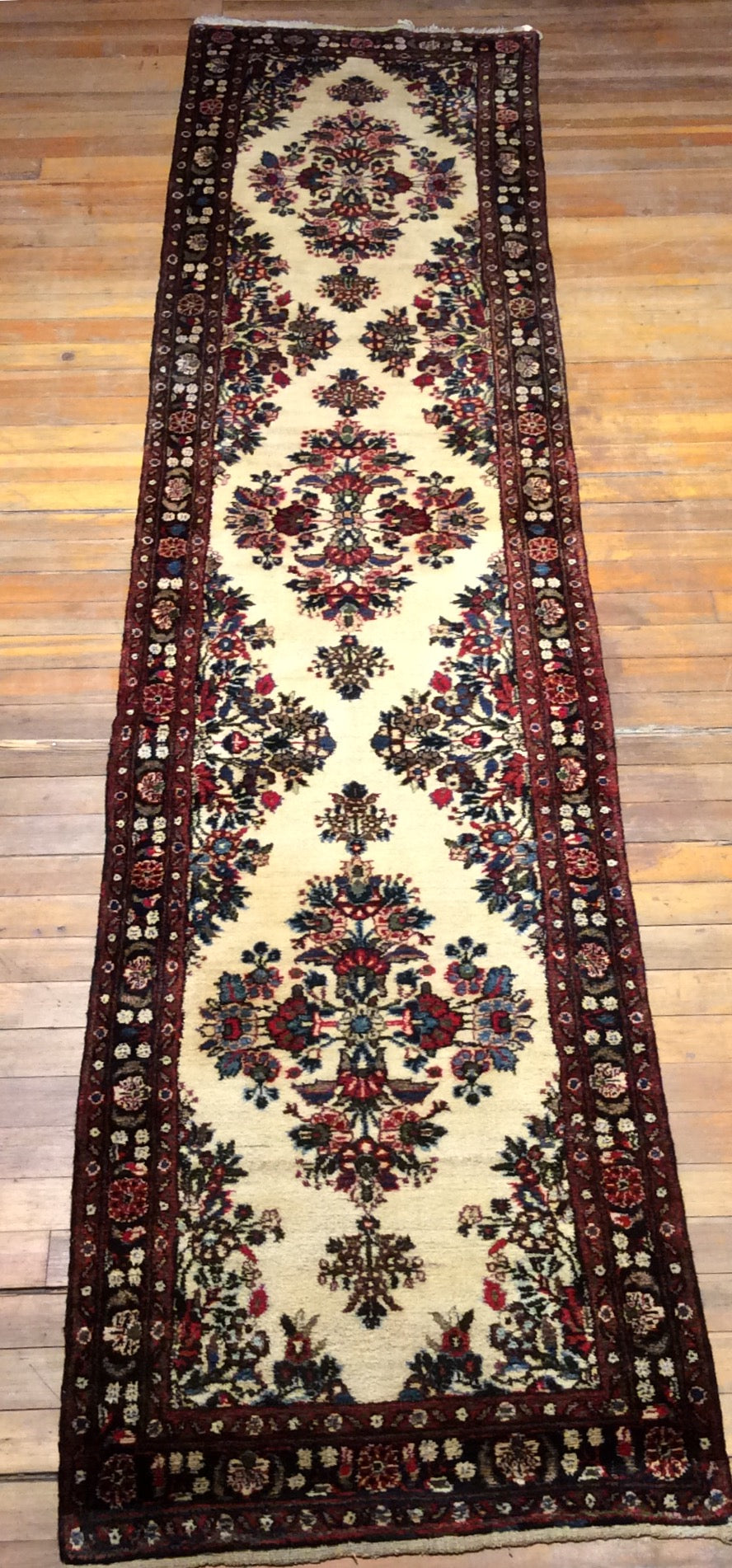 Persian Lillhan Rug.  11'9